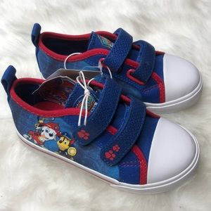 Paw Patrol Toddler Velcro Sneakers Size 8
